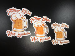 Follow Liters sticker