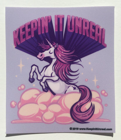 Keepin' It Unreal sticker
