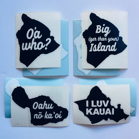 Fun Island Stickers