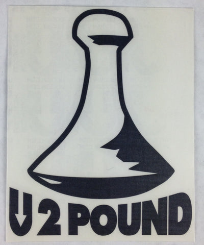 UDown 2 Pound (Poi) sticker
