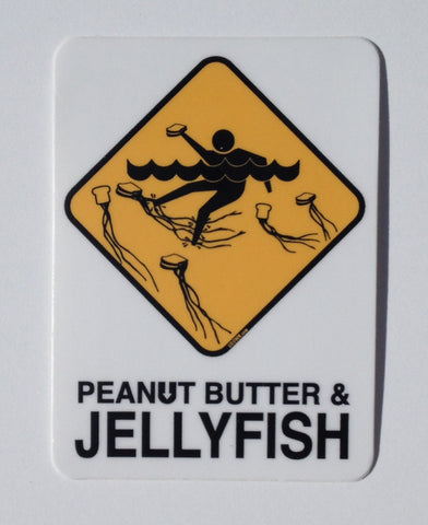 PB&Jellyfish fasty Sticker