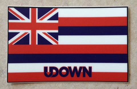Hawaiian Flag sticker