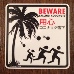 Falling Coconuts Magnet
