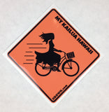 Men's Bike Girl (actual sign design)