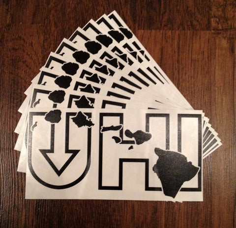 UHI Sticker