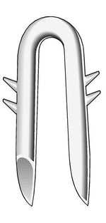 Bekaert Double Barbed Galvanized - Fence Staples