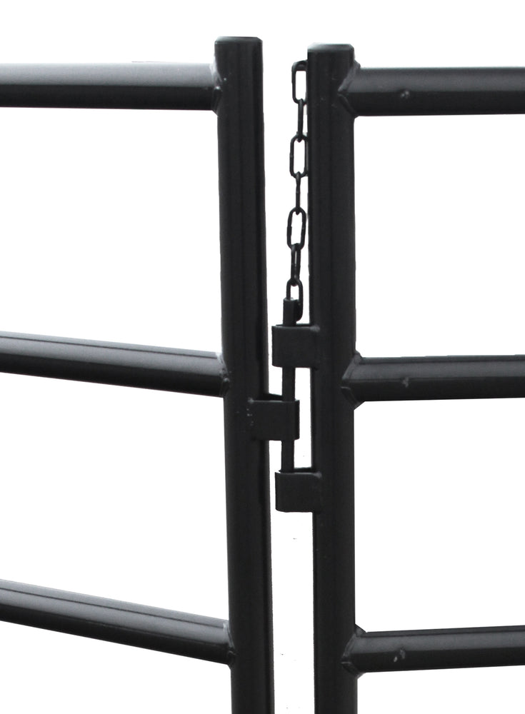 Equine Arched Entry Panel - Black
