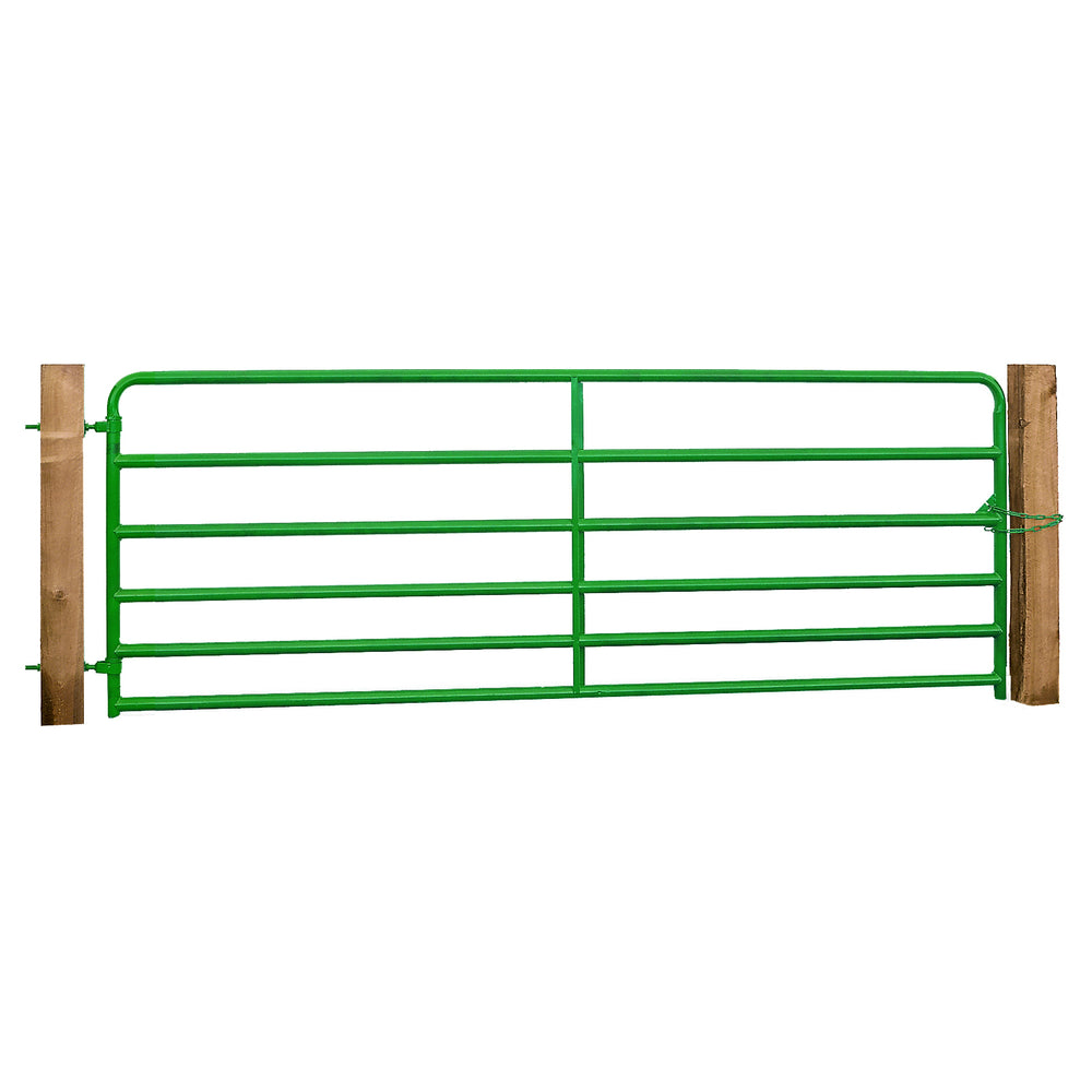 CG650 6 Rail Livestock Gate - Fixed Hinge