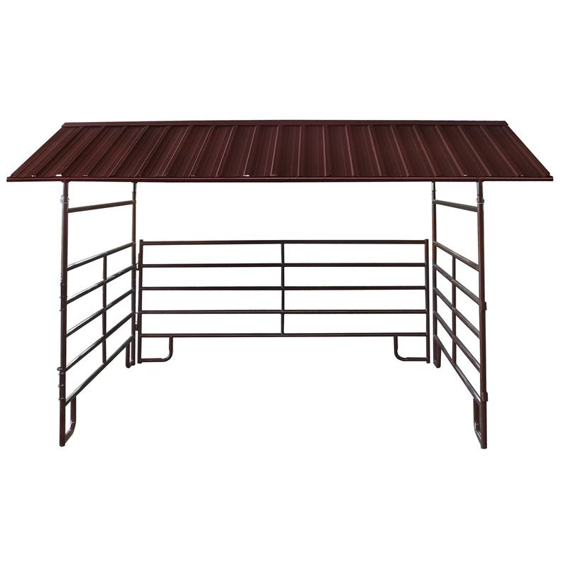 HBHSE 12' x 12' Horse Shelter for canvas roof panel