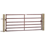 HB659 6 Rail Super Heavy Duty Cattle Gate