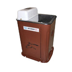 HW Brown Single Drink Waterer