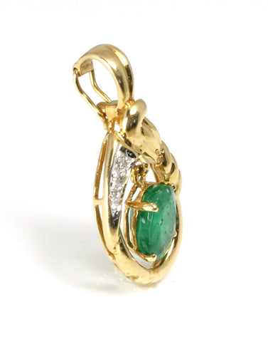 Emerald Natural Pendant