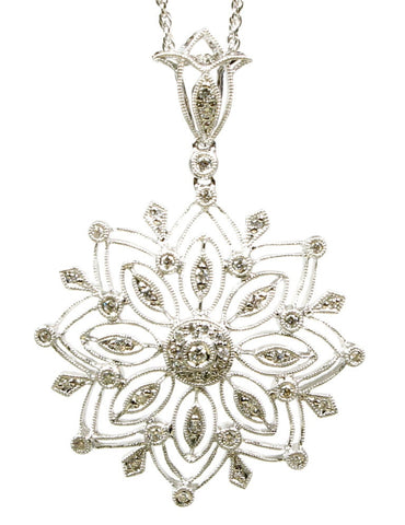 Diamond Lace Star Medallion