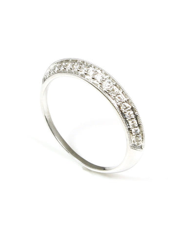 Diamond Band Enhancer/Wedding Band by Allison Kaufman