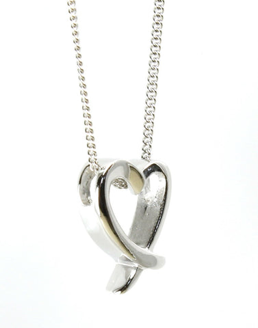 Simple Open Heart Pendant