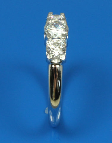 .40ctw Three Diamond Ring Setting
