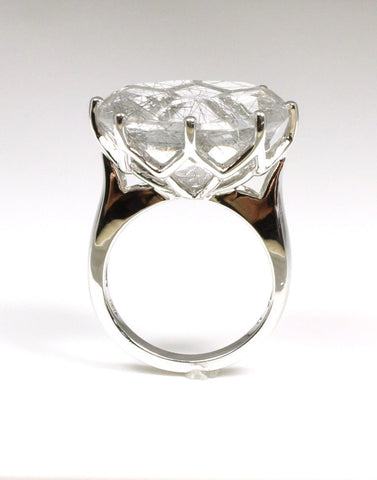 Tourmalated Quartz Fashion Ring