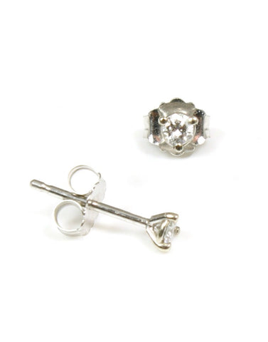 1/10 Carat Diamond Stud Earrings