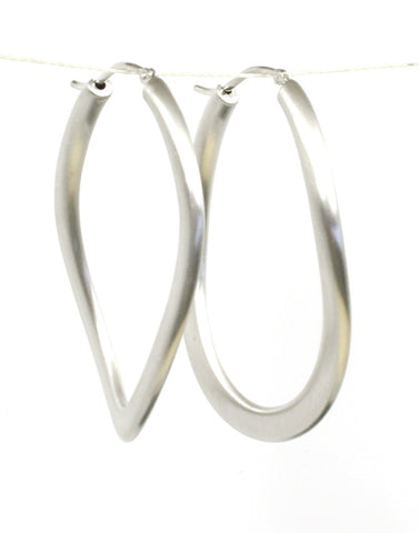 Satin Link Hoops by Bastian-Inverun