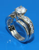 .50ctw Diamond Channel Set Bypass Engagement Ring Setting
