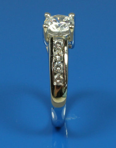 .40ctw Diamond Channel Engagement Ring Setting