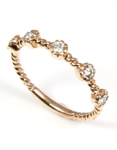 Diamond Stacking Band by Allison Kaufman