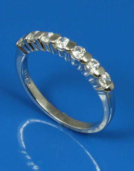 .35ctw Bar Set Diamond Band