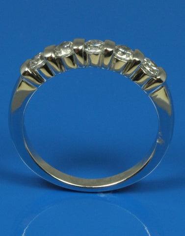 .50ctw Bar Set Diamond Band