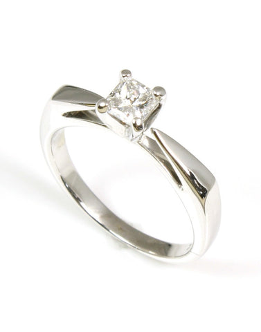 Diamond .33 Carat Solitaire Ring