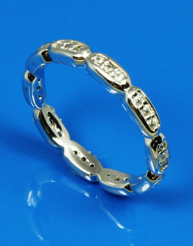.33ctw Diamond Detailed Eternity Band