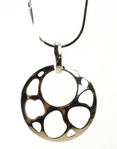 Circle with Cut-out Pendant
