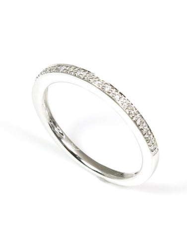 Pave Diamond Band by Allison Kaufman