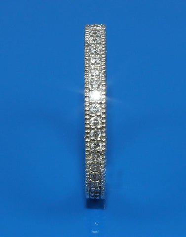 .95ctw Diamond 3 Sided Band