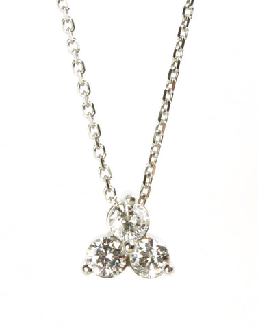 Three Diamond Pendant