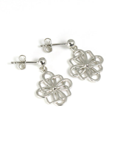 Celtic Flower Earring