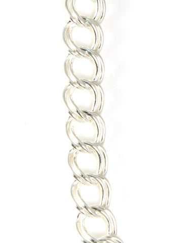 Large Double Link Charm Brac