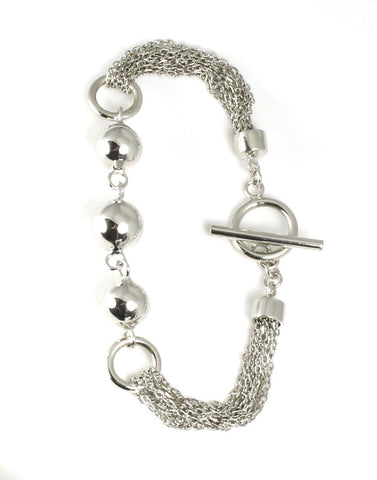 Multi Ball and Chain Bracelet