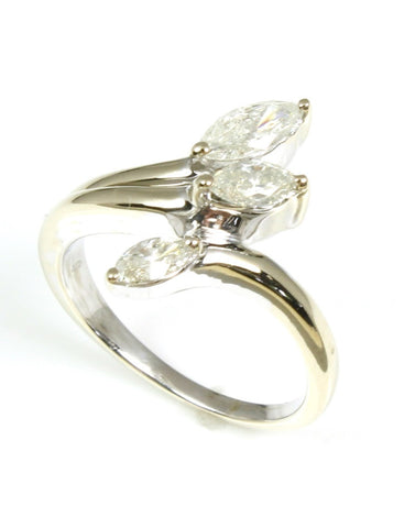 Diamond Three marquise Ring