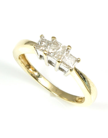 Princess Diamond Ring