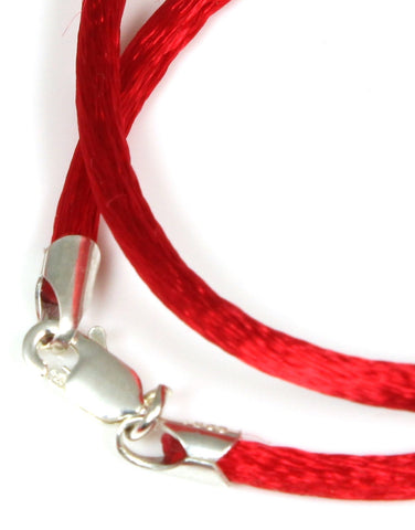 Satin Cord, Red