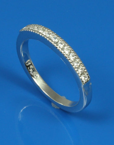 .19ctw Diamond Milgrain Band