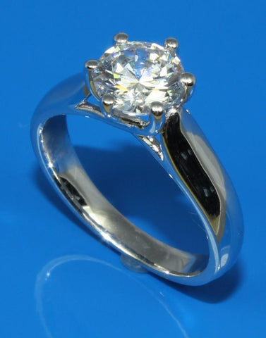 Solitaire Diamond Ring Setting