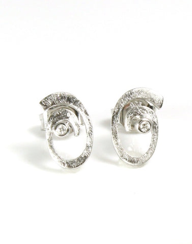 Diamond Rogue Wave Earring by Bastian-Inverun