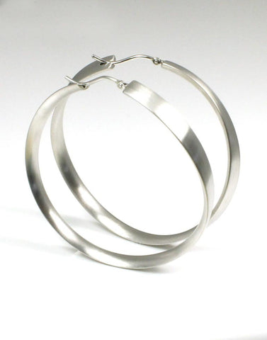 Matte Ribbon Round Hoops by Bastian-Inverun