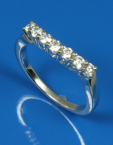 .35ctw Curved Diamond Band