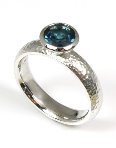 "Topaz ""London"" Bezel Ring by Bastian-Inverun"