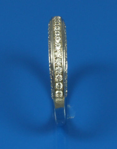 .60ctw Diamond Three Sided Band