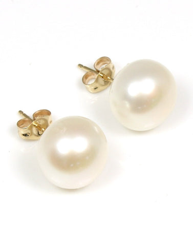 10-11mm Freshwater Pearl Stud Earrings