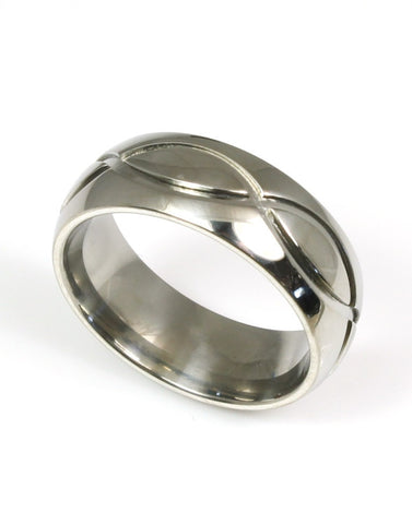Milled Design Ring