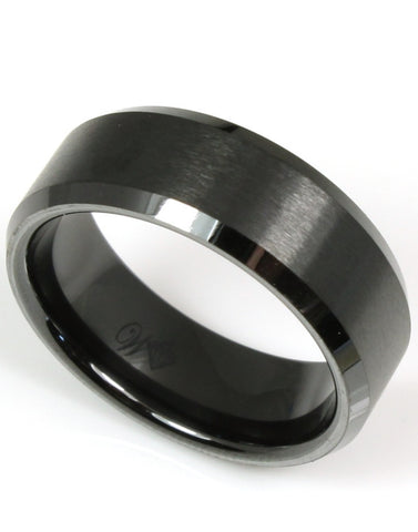 Ceramic Satin with Beveled Edges on Band